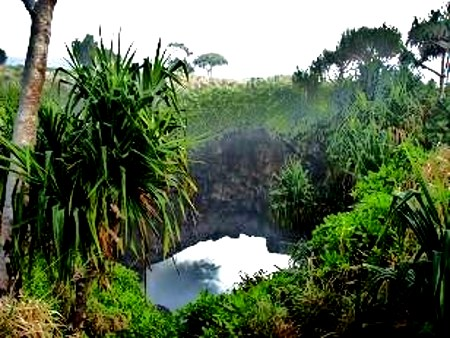 Hafangalupe naturl land bridge
