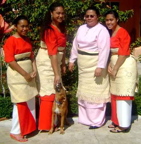 Tongan clothing culture