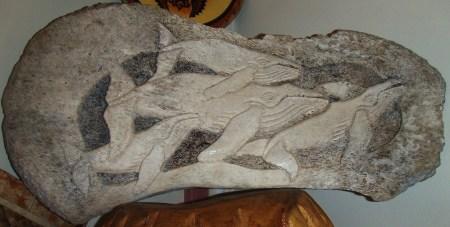 whale bone craft, Ha'atua handicraft shop 'Eua island